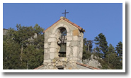 clocher chapelle saint christophe rougon
