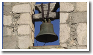 cloche de la chapelle saint christophe de rougon